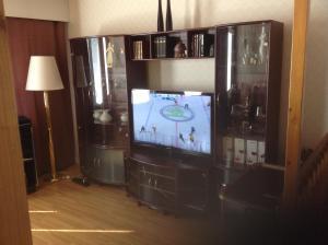 TV tai viihdekeskus majoituspaikassa Apartment Marina Home with sauna