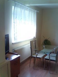 TV a/nebo společenská místnost v ubytování Apartmány-Lelovics-Ubytovanie