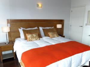 Una cama o camas en una habitación de Quinta Luna - Inmejorable vista