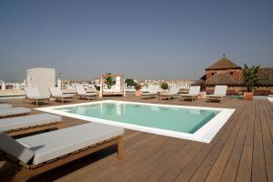 The swimming pool at or near Zenit Sevilla