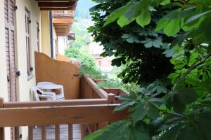 A balcony or terrace at Santorsola Relax Hotel