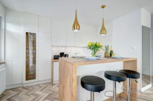 Kuchnia lub aneks kuchenny w obiekcie Live & Travel Apartments Number 1