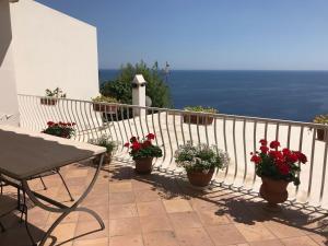 Balcone o terrazza di Casa Marta vacation home in Positano