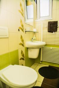 Kúpeľňa v ubytovaní Penzion Fako