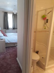 A bathroom at Sawbridgeworth Bed & Breakfast