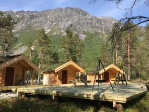 Bassenget på eller i nærheten av Camp Dronningkrona