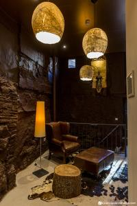 The lobby or reception area at Hotel Secrets Priorat
