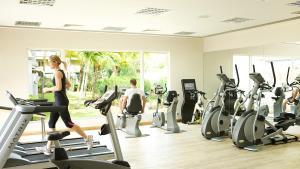 Het fitnesscentrum en/of fitnessfaciliteiten van Labourdonnais Waterfront Hotel