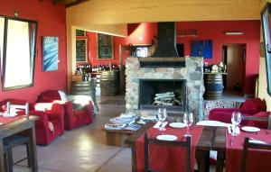 Un restaurant u otro lugar para comer en Tupungato Divino