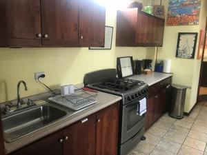 A kitchen or kitchenette at Gastronomical Centre San Jose