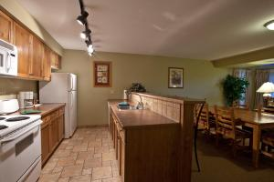 A kitchen or kitchenette at Polaris Lodge