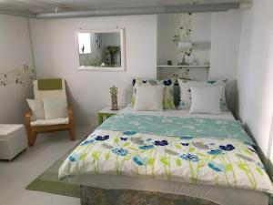A bed or beds in a room at Apartment Drava