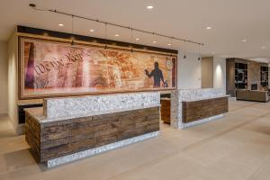 The lobby or reception area at Hotel Madison & Shenandoah Conference Ctr.