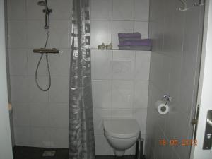 Een badkamer bij B&B Kei Moj