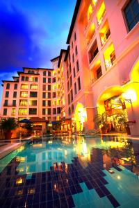 The swimming pool at or near Fraser Place Robertson Walk Singapore (SG Clean)