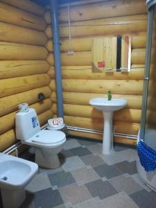 Ванная комната в База отдыха Reef