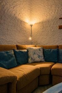 A seating area at Villa Saline