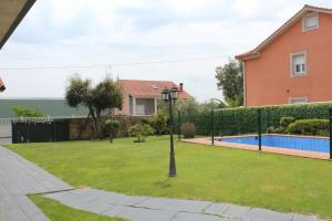 The swimming pool at or near A Lúa do Camiño