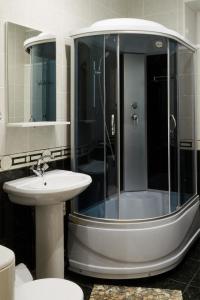 Ванная комната в Guest House on Partizanskaya