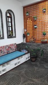 A seating area at Pousada Sognares