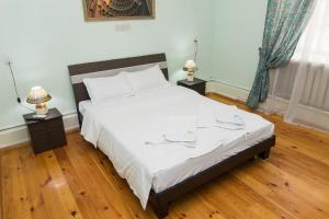 Cama o camas de una habitación en Art Hostel