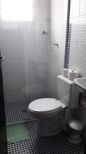 A bathroom at Pousada Sognares
