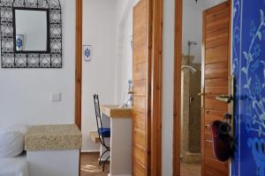 Salle de bains dans l'établissement Al Alba