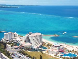 A bird's-eye view of Sheraton Okinawa Sunmarina Resort