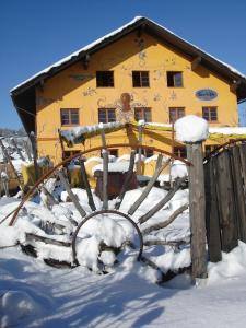 Schiff Bihlerdorf - Hostel during the winter