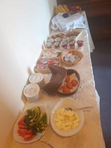 Frühstücksoptionen für Gäste der Unterkunft Pension Im Bett