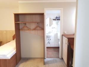 Küche/Küchenzeile in der Unterkunft Pension Im Bett