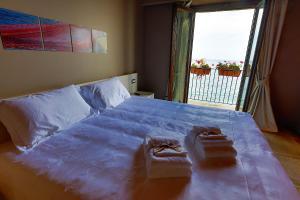 Letto o letti in una camera di Il Casato Deluxe Rooms