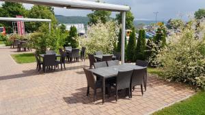 Патио или другая зона на открытом воздухе в Dream Inn Hotel Regensburg Ost