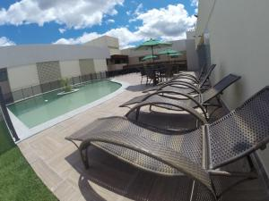 The swimming pool at or near Hotel Privillege
