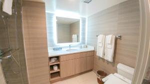 Koupelna v ubytování Polynesian Residences Waikiki Beach