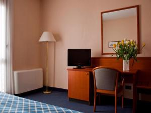 TV/Unterhaltungsangebot in der Unterkunft Hotel Zone