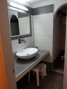 Salle de bains dans l'établissement Mark & Joanna Studios