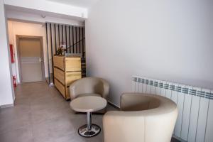 O zonă de relaxare la Belleview Suites