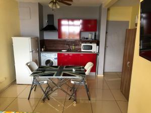 A cozinha ou cozinha compacta de STUDIO Le Regent