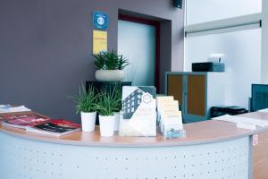 Lobby/Rezeption in der Unterkunft Hotel Moby Dick by WP hotels