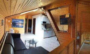 Кът за сядане в Karawanken Lodge