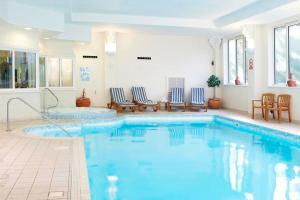 The swimming pool at or near Hall Garth Hotel; BW Signature Collection