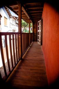 Balkon atau teras di Apartamentos Rurales Casa De Los Escudos