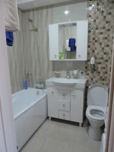 Ванная комната в Квартира У моря, с видом на горы