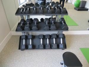 The fitness center and/or fitness facilities at The Alexander, A Dolce Hotel