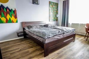 Posteľ alebo postele v izbe v ubytovaní HOTEL 63