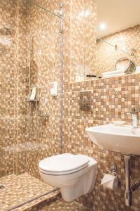 Ванная комната в Исторический отель Централь