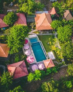A view of the pool at Darsan Lembongan Boutique Cottage or nearby