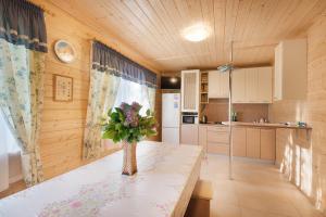 Кухня или мини-кухня в Фазенда Суздаль
