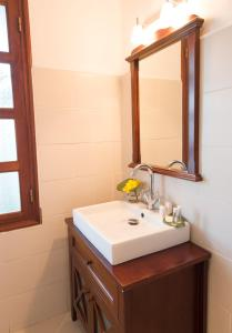 A bathroom at Hotel l'Impératrice